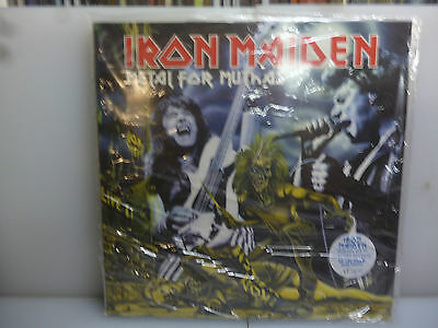 Iron Maiden-Metal For Muthas. London, Uk 1980.-2Lp Blue Vinyl-New. Sealed