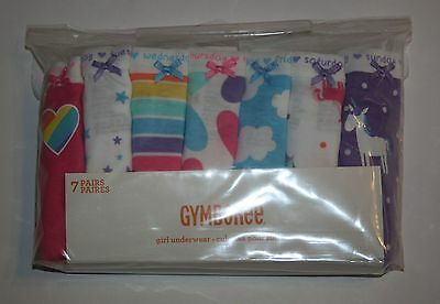 New Gymboree 7 Pk Underwear Panties NWT 2T 3T 4 5 6 10 12 Hearts Unicorns Clouds