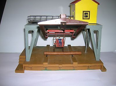 American Flyer # 787 Log Loader , working , used no box lot # 9642