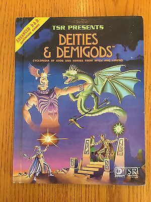Advanced Dungeons & Dragons - Deities & Demigods - AD&D TSR 128 Pages 4th Print