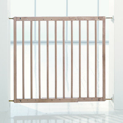 NEW BABYDAN WOOD MULTIDAN SAFETY GATE WOODEN BABY STAIR GATE (FITS 60.5 - 102cm)