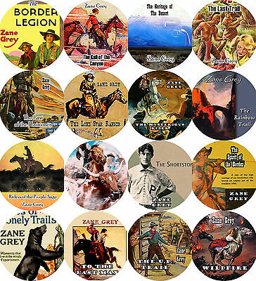 LOT of 16 / ZANE GREY / MP3 (READ) CD / Audiobooks / WESTERNS