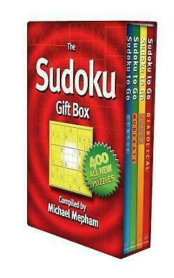 The Sudoku Gift Box by Michael Mepham (English) Boxed Set Book Free Shipping!