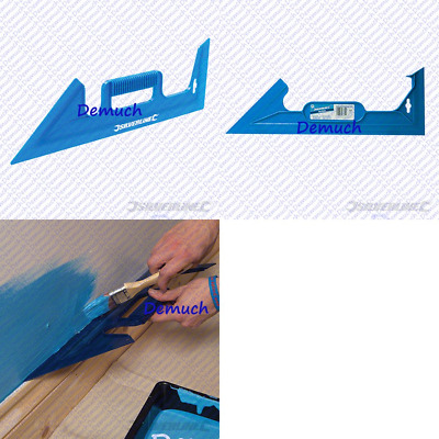 New PAINT SHIELD GUARD 450mm Decorating DIY Tool Masks Straight Edge 45° & 90° ✔