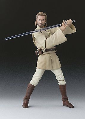 BANDAI S.H.Figuarts Star Wars Obi-Wan Kenobi ATTACK OF THE CLONES Japan Import