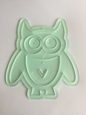 Owl acrylic sewing/craft template