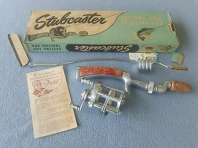 Nos Waltco Glasscaster - Stubcaster Rod - Nos Pflueger Summit #1995 Baitcaster
