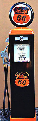 New Phillips 66  Reproduction Gas Pump - Antique Oil  Replica - Free Shipping*