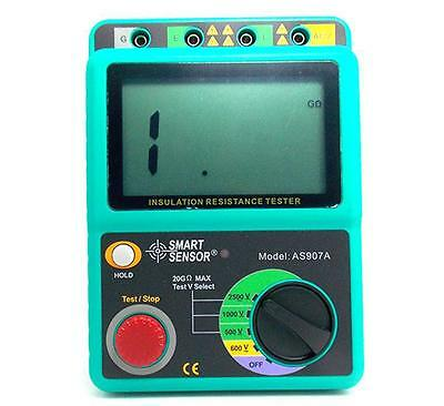 Digital pressure megger insulation resistance tester Electrical resistivity