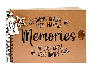 Scrapbook, A5 A4 Making Memories, Card Pages, Photo Album, Keepsake
