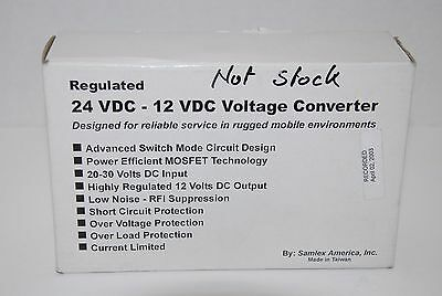 Samlex Sdc-15 24Vdc-12Vdc 12Amp Non-Isolated Step Down Dc/dc Converter