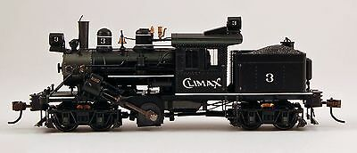 Bachmann HO Scale Train Steam Loco Climax DCC Equipped Climax Demonstrator 80603