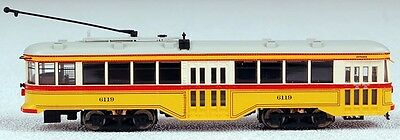 Bachmann N Scale Train Peter Witt Trolley DCC Equipped Baltimore Ohio 84654