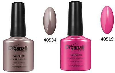 2X Vernis a ongle semi-permanent Rubble+ Rose Popo