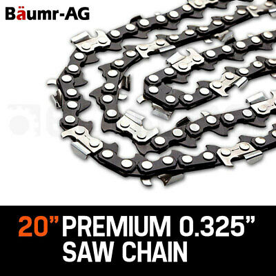 "20"" BAUMR-AG CHAINSAW CHAIN 20in Bar Spare Part Replacement Suits 62cc 66cc Saws"
