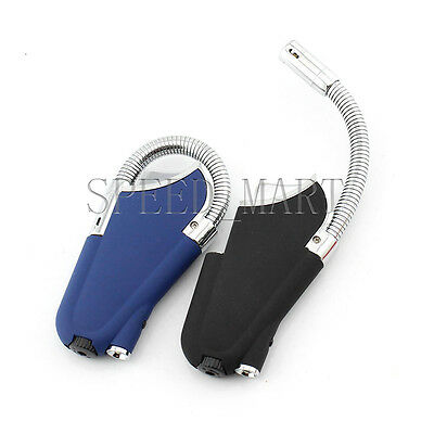 Flexible Pipe Lighter Refillable Butane Gas Jet Torch Windproof Flame Smoke NEW