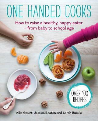 One Handed Cooks by Jessica Beaton Paperback Book Free Shipping!