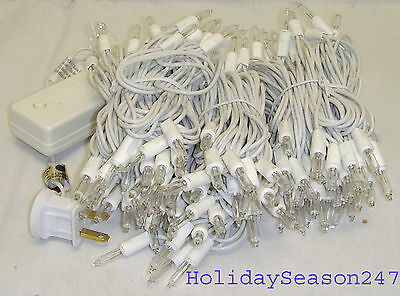 150 Motion Chaser Light String Clear Color 16 Function Christmas Holiday Decor