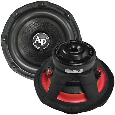 "New Audiopipe Txxbd112 12"" 4 Ohm Dvc 1200W Car Audio Subwoofer 12In Sub Woofer"