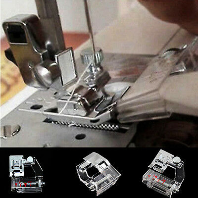 1*Adjust Bias Tape Binder Foot Snap On For Singer Janome Brother Sewing Machine