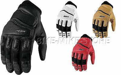 ICON Motorcycle gloves GLOVE SUPERDUTY LEATHER - S - 4XL