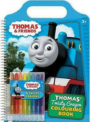 Thomas and Friends: Thomas' Twisty Crayon Colouring Book Paperback Book