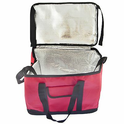 30L Cool Bag Strap Ice Cooler Picnic Pizza Delivery Hot Food Carrier Camping