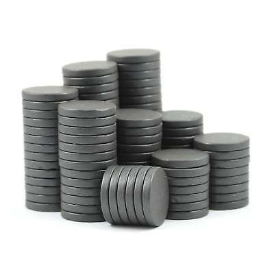 20mm dia x 3mm C8 stronger ferrite disk magnets DIY MRO SMALL PACKS craft fridge