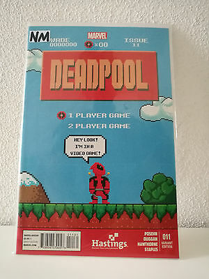 Deadpool Vol.3 #11 (Hastings 8-Bit Variant) NM