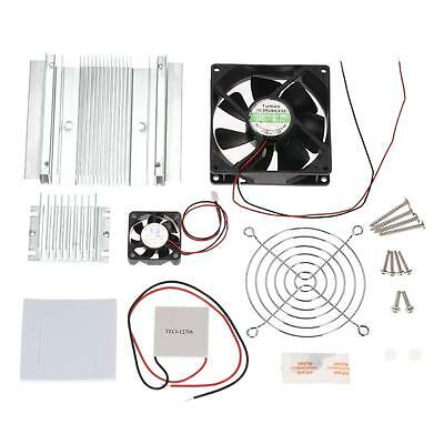 DIY Thermoelectric Peltier Cooling System Kit Module TEC1-12706 Heatsink O9D6