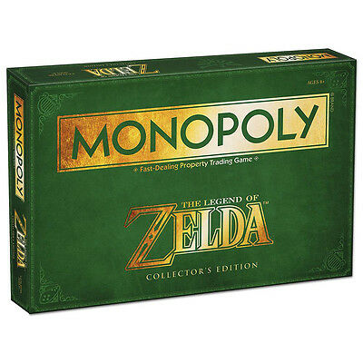 Monopoly The Legend of Zelda Collector's Edition - Usaopoly - New Board Game