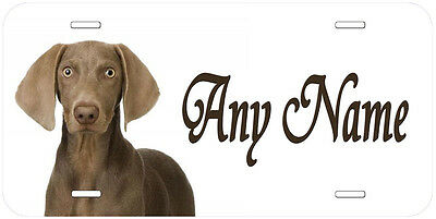 Pointer Puppy Dog Personalized Any Name Novelty Aluminum Car License Plate