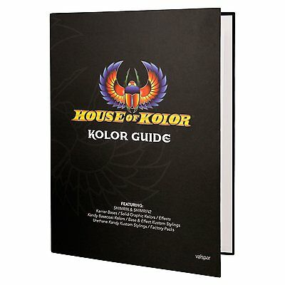 House of Kolor Kolor Guide Hardcover Book featuring Shimrin and Shimrin2