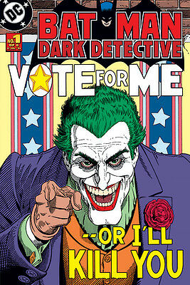 DC COMICS Joker (Vote for Me) Maxi Poster - 61cm x 91.5cm - PP32101 - R34