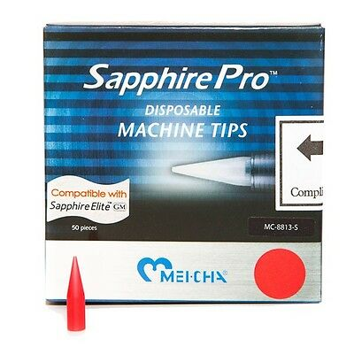 MEI CHA Permanent Makeup Sapphire PRO Disposable TIPS for 1 Prong Needles 50/box