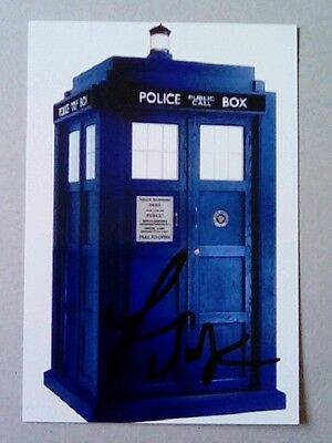 Fenella Woolgar Doctor Who Dr Who signed 6x4  tardis photo   AFTAL PROOF