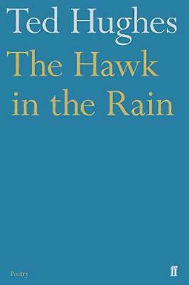The Hawk in the Rain by Ted Hughes Paperback Book Free Shipping!