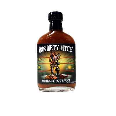 One Dirty Bitch Whiskey Chipotle Hot Sauce, 5.7 oz.
