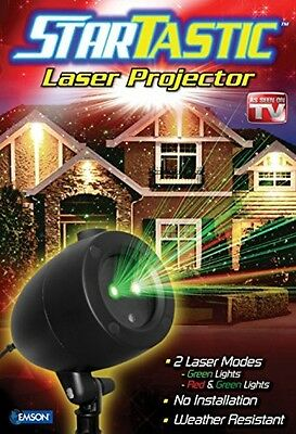 Startastic holiday light show laser light projector As Seen on TV static.
