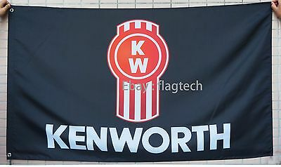 Kenworth Truck Flag Kenworth Truck banner Flags 3X5 ft-free shipping