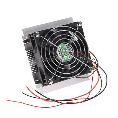 New Thermoelectric Peltier Refrigeration Cooler Fan Cooling System DIY Kit A5B8