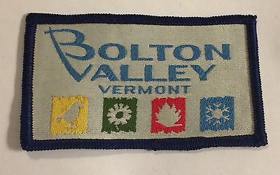 BOLTON VALLEY Skiing Ski Patch VERMONT VT Resort Souvenir Travel Vintage