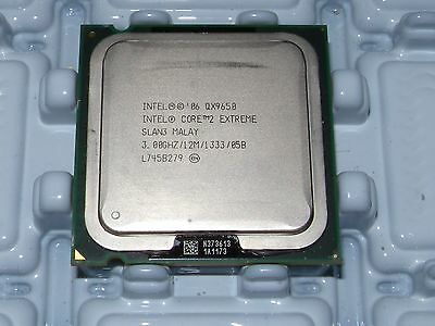Intel Core 2 Extreme QX9650 SLAN3 SLAWN LGA 775 3 GHz 1333 MHz CPU Processor