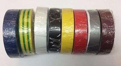 20M Insulation Rolls Different Colours - In Stock!!!
