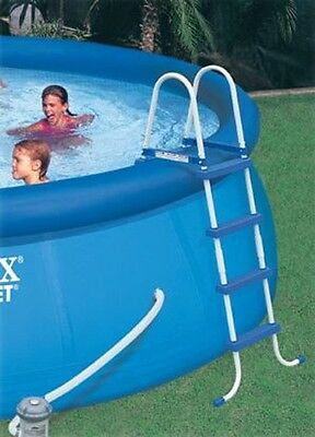 INTEX  Pool Leiter 122 cm Leiter Easy Set & Metall Frame. 58974