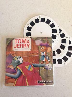 Vintage Tom & Jerry Droopy Spike & Tyke 1956 Gaf View Master Reels Rare B511