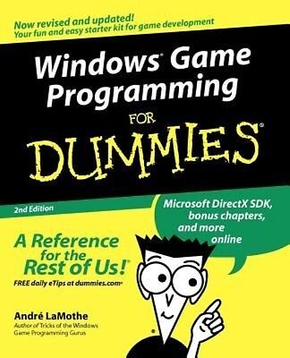 Windows Game Programming for Dummies by Andre LaMothe Paperback Book (English)