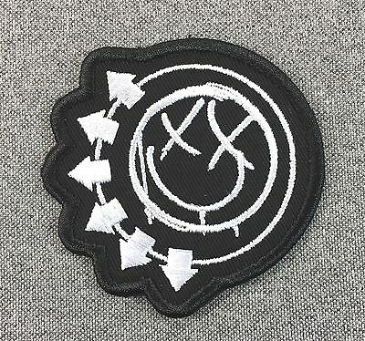Blink-182 Patch 3in iron on patch Music Rock Band blink 182 Circle si