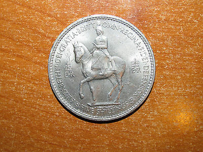GB England 1953 Crown coin Extremely Fine nice