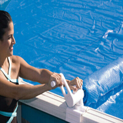 Above Ground Swimming Pool Cover Solar Reel Up To 18'
